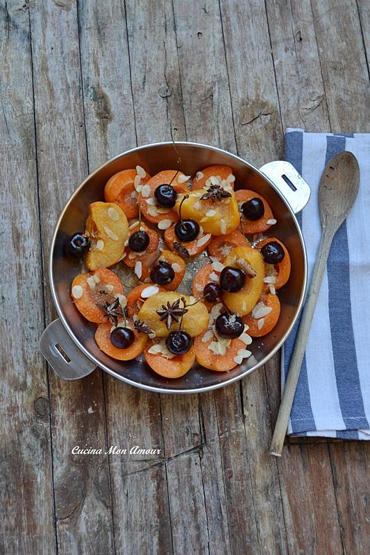 Padellata di Frutta Estiva al Vino