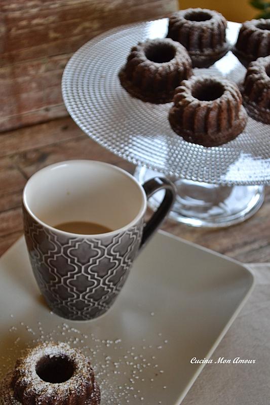 Mini Bundt al Cacao