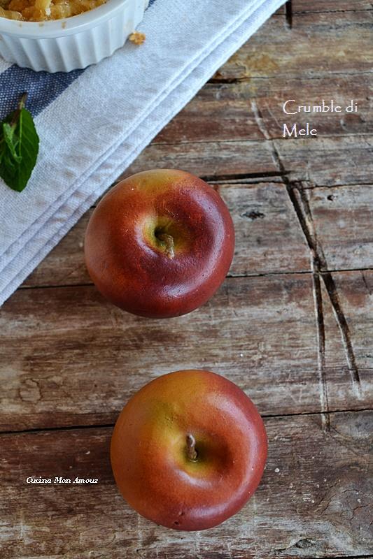 Crumble di mele