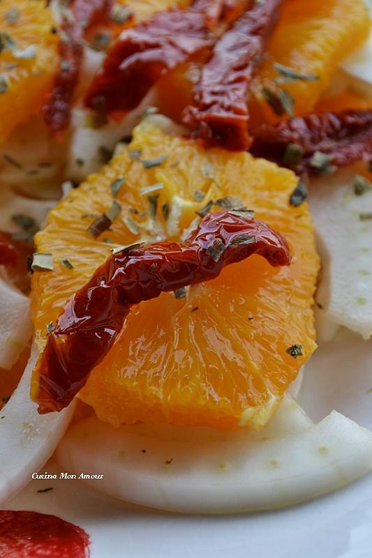Arancia Finocchi Pomodori Secchi