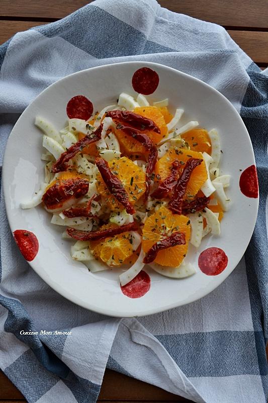 Arancia Finocchi e Pomodori Secchi