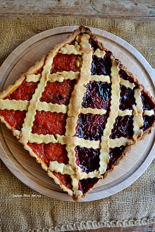 Crostata due marmellata