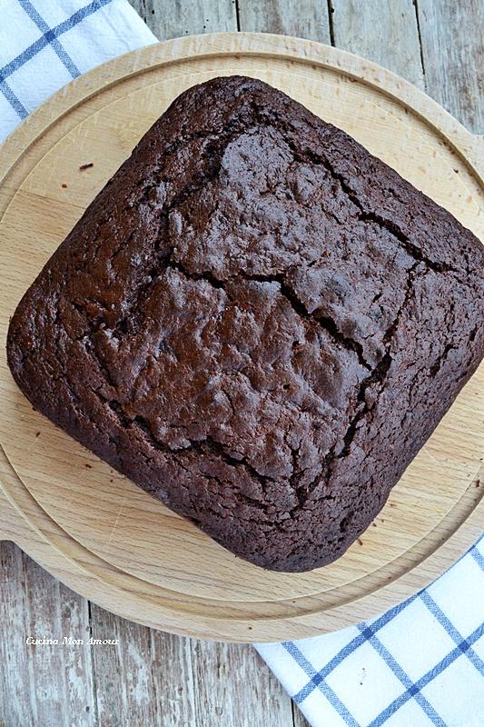 Torta cacao e zucchine.